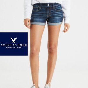 American Eagle Midi Shorts -Size 00 -Super Stretch